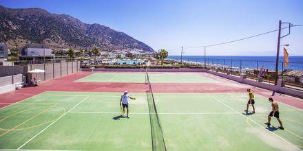 Tennis på hotell Akti Palace i Kardamena på Kos, Grekland.