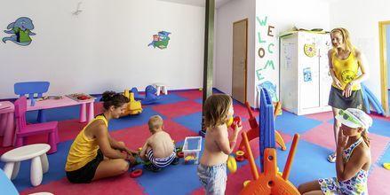Barnklubb på hotell Akti Palace i Kardamena på Kos, Grekland.