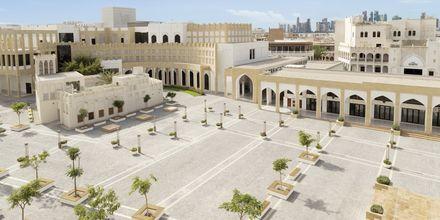 Torget utanför hotellet Al Najada by Tivoli, Doha, Qatar.