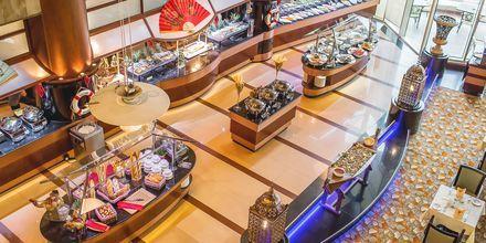 Restaurang Sevilla på Al Raha Beach i Abu Dhabi, Förenade Arabemiraten.