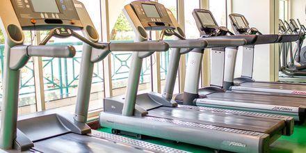 Gym på hotell Al Raha Beach i Abu Dhabi, Förenade Arabemiraten.
