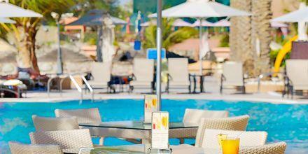 Poolbar på hotell Al Raha Beach i Abu Dhabi, Förenade Arabemiraten.