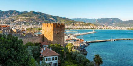 Vackra utsikter över Alanya, Turkiet.