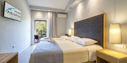 Dubbelrum på hotell Albatros i Sivota, Grekland.