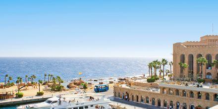 Marinan på hotell Albatros Citadel Resort i Sahl Hasheesh, Egypten.