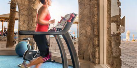 Gym på hotell Albatros Citadel Resort i Sahl Hasheesh, Egypten.