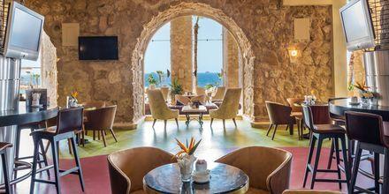 Café på hotell Albatros Citadel Resort i Sahl Hasheesh, Egypten.