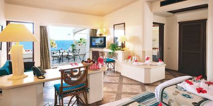 Dubbelrum på hotell Citadel Azur Resort i Sahl Hasheesh, Egypten.