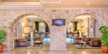 Receptionen på hotell Albatros Citadel Resort i Sahl Hasheesh, Egypten.