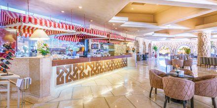 Lobbybaren på hotell Albatros Citadel Resort i Sahl Hasheesh, Egypten.