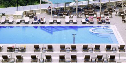 Pool på Albatross Hotel & Spa i Hersonissos på Kreta, Grekland.