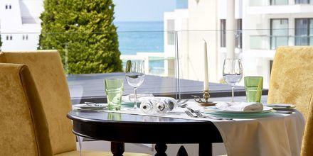 Restaurang på hotell Albatross Hotel & Spa i Hersonissos på Kreta.