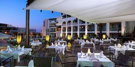 Utomhusrestaurang på Albatross Hotel & Spa i Hersonissos, Kreta.