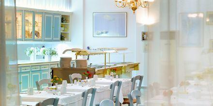 Restaurang på Albatross Hotel & Spa i Hersonissos på Kreta, Grekland.