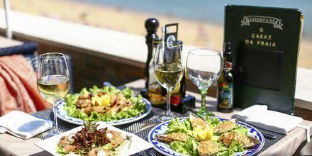 Restaurang i Albufeira, Algarvekusten.