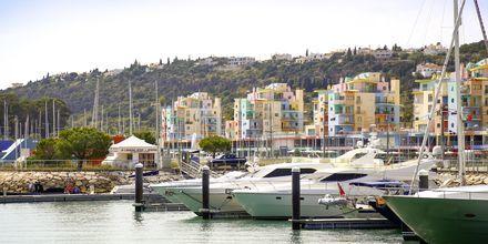 Marinan i Albufeira, Algarvekusten.