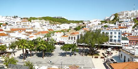 Gamla stan i Albufeira, Algarvekusten.