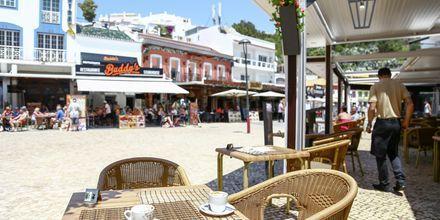 Gamla stan i Albufeira, Algarve.