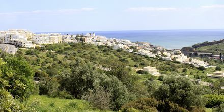 Albufeira på Algarvekusten, Portugal.