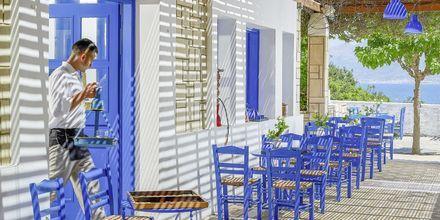 Caféet på hotel Aldemar Knossos Royal i Hersonissos, Kreta.