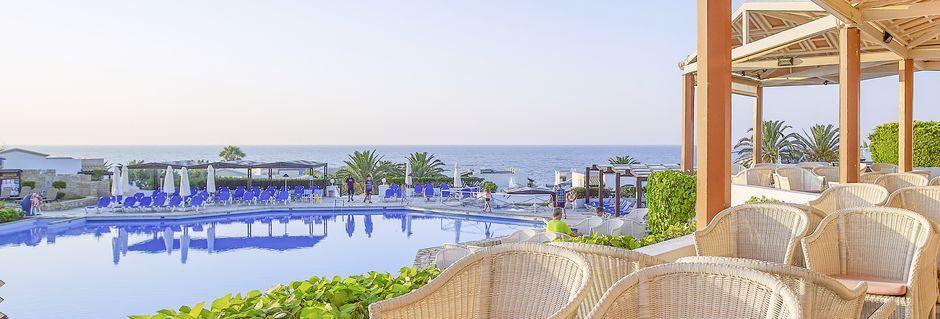 Poolbaren på hotel Aldemar Knossos Royal i Hersonissos, Kreta.