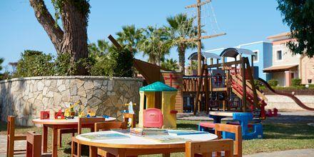 Barnklubb på hotell Aldemar Olympian Village i Skafidia, Grekland.