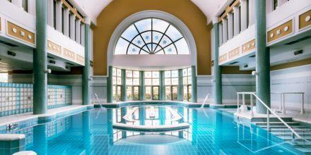Royal Olympian Spa & Thalasso på hotell Aldemar Olympian Village i Skafidia, Grekland.