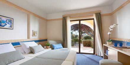 Dubbelrum på hotell Aldemar Olympian Village i Skafidia, Grekland.