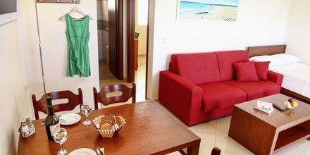 Tvårumslägenhet deluxe på hotell Alea i Parga, Grekland.
