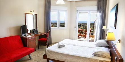 Enrumslägenhet på hotell Alea i Parga, Grekland.