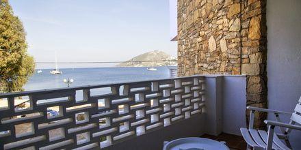 Hotell Alea Mare på Leros, Grekland.