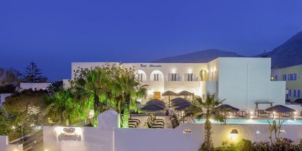 Hotell Alexandra i Kamari, Santorini.