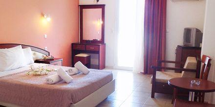 Dubbelrum på hotell Alexandros på Lefkas, Grekland.