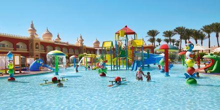 Barnpool på Alf Leila Wa Leila Waterpark i Hurghada.