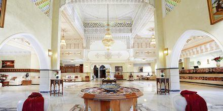 Lobbyn på Alf Leila Wa Leila Waterpark i Hurghada.