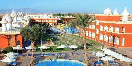 Pool på Alf Leila Wa Leila Waterpark i Hurghada.