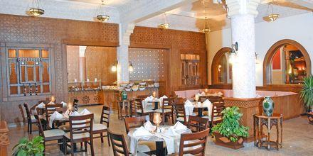 Restaurang på Alf Leila Wa Leila Waterpark i Hurghada.