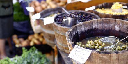 Marknad på Algarvekusten.