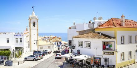 Gamla stan i Albufeira på Algarvekusten.