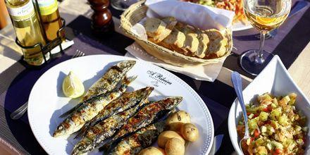 Grillade sardiner