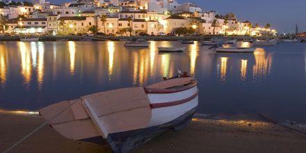 Algarvekusten i Portugal.