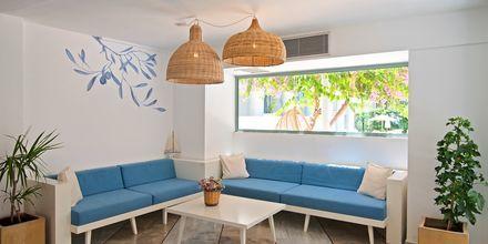 Reception på hotell Alia Beach i Hersonissos, på Kreta.