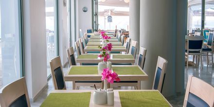 Frukostrestaurang på hotell Alia Beach i Hersonissos, på Kreta.