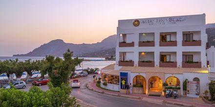 Hotell Alianthos Beach i Plakias på Kreta, Grekland.