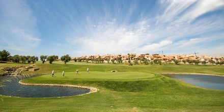 Golfbanor finns det gott om nära Alicante!