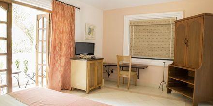 Superiorrum på hotell Alidia Beach Resort i Norra Goa, Indien.