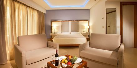 Juniorsvit på hotell Alimounda Mare på Karpathos, Grekland.