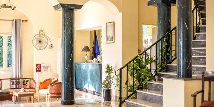 Lobby på hotell Alinda på Leros, Grekland.