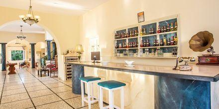 Bar på hotell Alinda på Leros, Grekland.