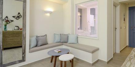 Juniorsvit på hotell Alkyoni Beach i Naxos stad på Naxos, Grekland.